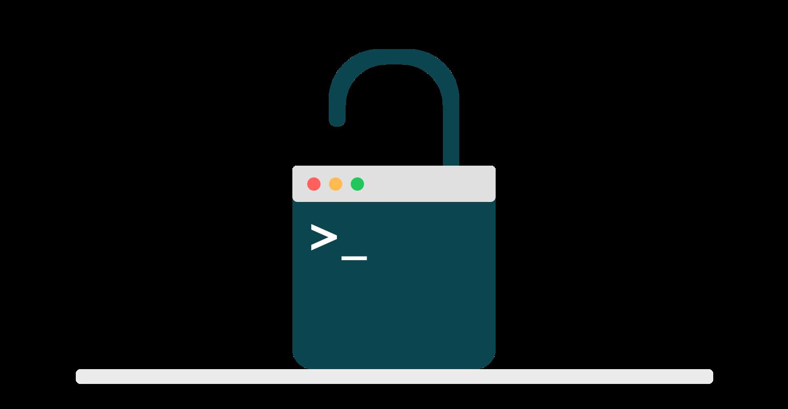 Unlocking the terminal * Equaleyes Blog